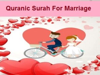 Quranic Surah For Marriage in Quran