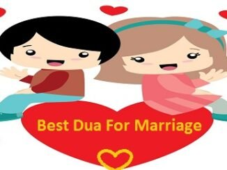 Best Dua For Marriage